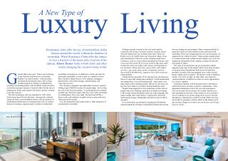 The Eden Residence Club - A New Type of Luxury Living