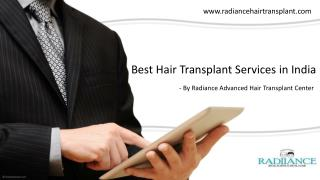 Best Hair Transplant Surgeon In India | Radiiance Hair Transplant Center