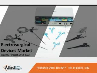 Electrosurgical Devices Market Expected to Reach $3,894 Million Globally, by 2022