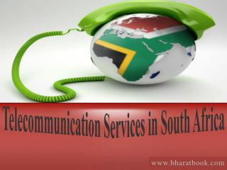 Discount Offers On Telecommunication Services in South Africa
