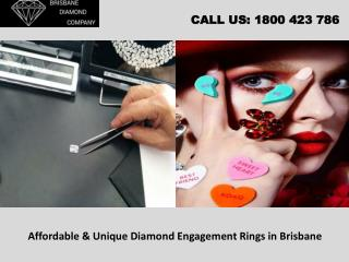 Affordable & Unique Diamond Engagement Rings in Brisbane