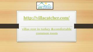 Turkey Villa Holidays provides you great stay in turkey
