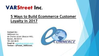 5 Ways to Build Ecommerce Customer Loyalty in 2017