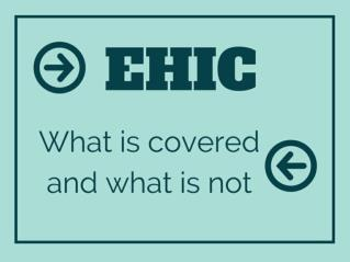 EHIC: what is covered and what is not