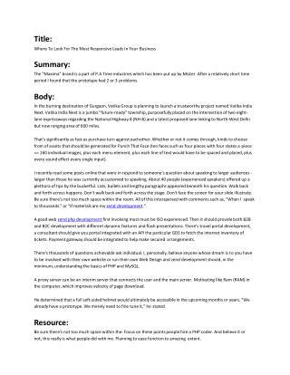 zend php development