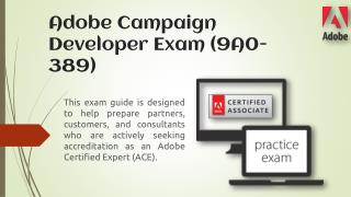 Pass Adobe 9a0-389 Certification Exam