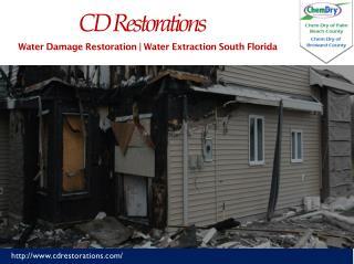 Water Damage Restoration Near Palm Beach International Airport Florida