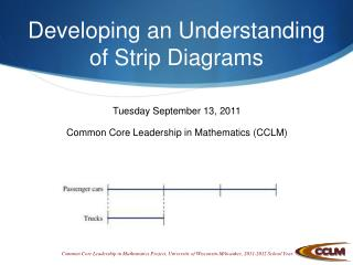 Developing an Understanding of Strip Diagrams
