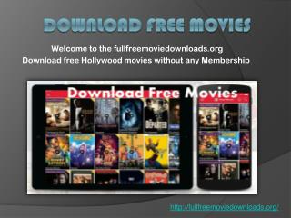 Download free movies Online