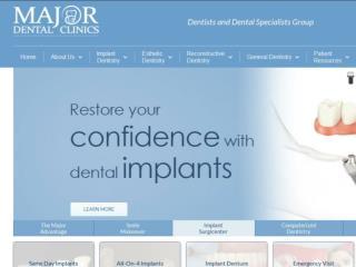 Dentist in Milwaukee | Prosthodontists | Teeth Whitening Services - Major Dental Clinics