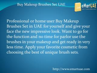 Buy Makeup Brushes Set UAE