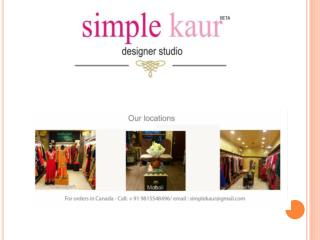 Kaur's Boutique chandigarh | Kaur boutique Chandigarh | boutiques in chandigarh