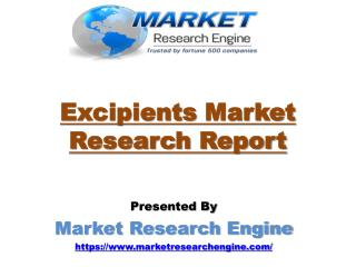 Excipients Market in Latin America to Exceed US$ 626 Million by 2023