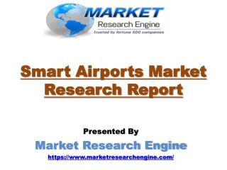 Smart Airports Market Worth US$ 19 Billion by 2024