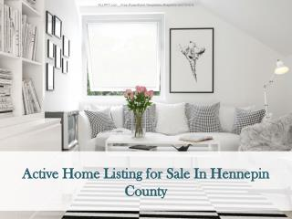 Current Home Listing In Hennepin County