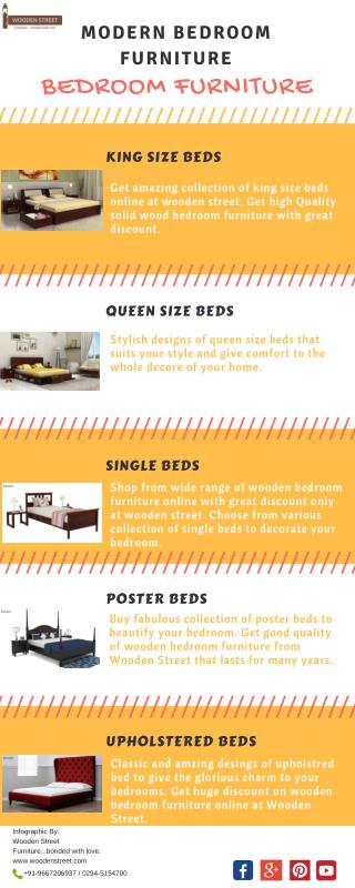 Buy Stylish Bedroom furniture online India