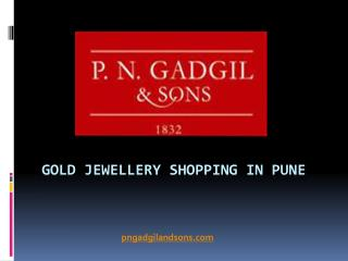 Gold & Traditional Jewellery Shopping in Pune by PNG & Sons