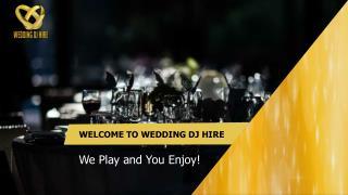 Exclusive Wedding DJ's