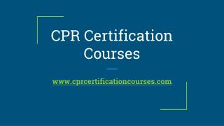 Online First Aid Recertification