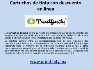 Cartuchos de tinta con descuento en línea