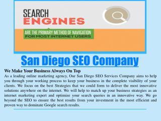 San Diego SEO Services