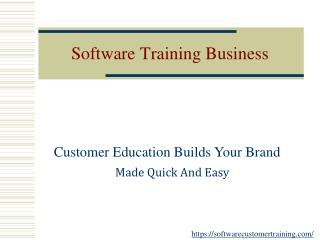 The Software Customer Training Is Becoming The Need Of The Hour