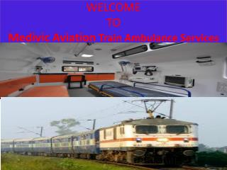 Best and Fast Medical Facilities Train Ambulance Services in Allahabad by Medivic Aviation
