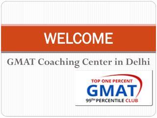 GMAT COACHING CENTRE IN DELHI