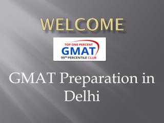 GMAT PREPARATION IN DELHI