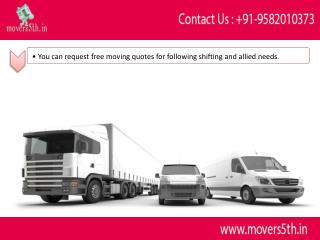 You can choose to trust the service is l Movers5th