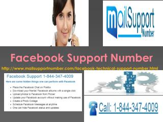 Getting smart with: Facebook Support Number1-844-347-4009