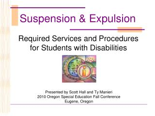 Required Services and Procedures for Students with Disabilities