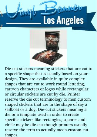 WHAT TO KNOW ABOUT DIE-CUT STICKERS