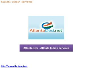 AtlantaDesi - Atlanta Indian Services