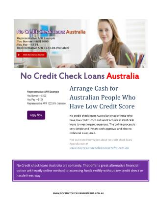 No Credit Check Loans – Attractive Cash Without Any Credit Check Procedure