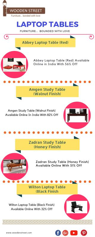 Buy Adjustable Laptop Desk Online At Lowest Prices In India