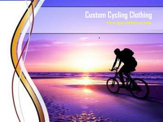 Custom Cycling Clothing | Gearclubwear.com