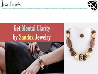 Sardonyx Stone - Get Mental Clarity by Sandox Jewelry - Jewel Info 4U