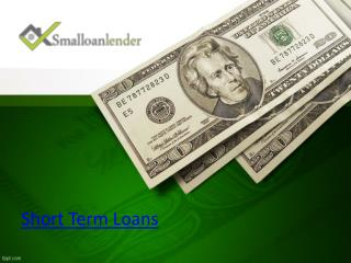 Get Short Term Loans for Bad Credit Instantly