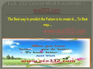 ECE 332 Course Real Knowledge / ece 332 dotcom