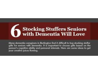 6 stocking stuffers seniors with dementia will love