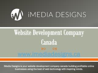 Website Development Company Canada