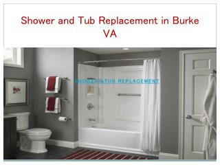 Shower and Tub Replacement in Burke VA