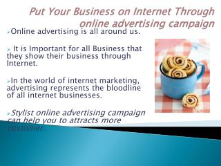 How online advertising campaign is Essential for Modern Day Business