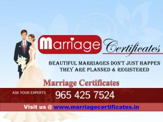 Arya samaj marriage certificate