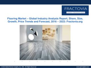Flooring Market in Commercial segment to hit $170bn by 2022