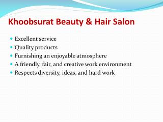 Hair salon in delhi - Khoobsurat Beauty salon