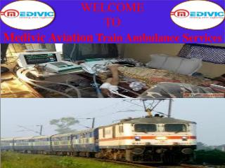 Medivic Aviation Emergency Medical Facilities Train Ambulance Services in Patna