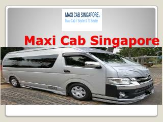 Quick booking with maxi taxi in Singapore
