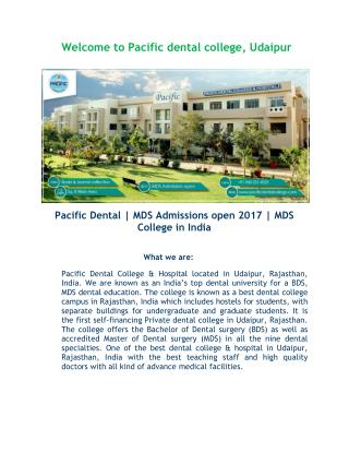 Top Dental College in india